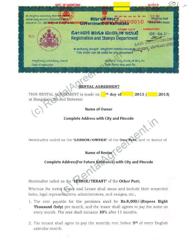 Rental agreement format agreement affidavit rental agreement arrow platinumwayz