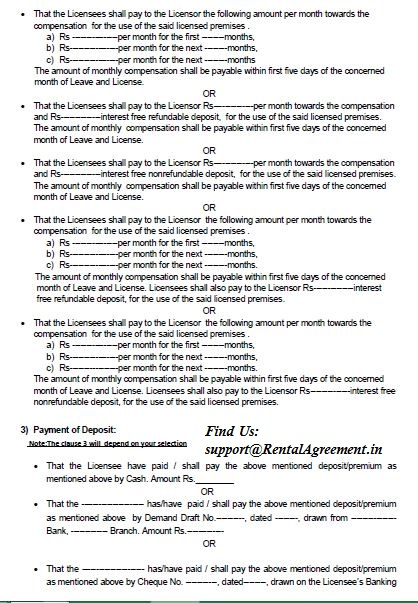 Rental Agreement   Page3